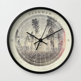 Wall Clock - Fernweh Vol 4 - HappyMelvin