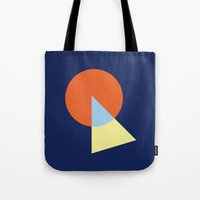 Triangle And Circle Tote Bag