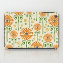 Retro Sunflower Pattern - Susan Weller iPad Case