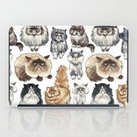 Disappointed Cats iPad Case