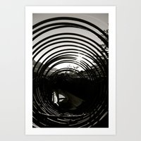 Coiled Art Print