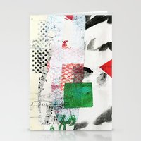 Collage 3 Stationery Cards