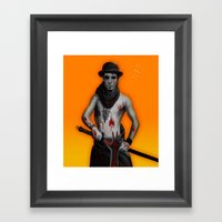 Killer On The Loose Framed Art Print