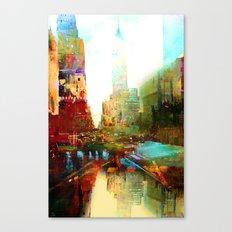 The indestructible city Canvas Print