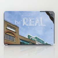 Be REAL iPad Case