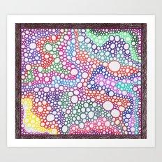 Bubbles 7 Art Print