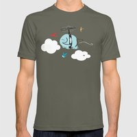 When Elephants Dream Mens Fitted Tee Lieutenant SMALL