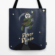 Peter Panda Tote Bag