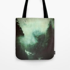 Morning Dust On Mountain… Tote Bag