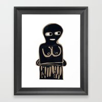 Someone Else Framed Art Print
