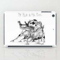 Mc Blob A Ma Puss iPad Case