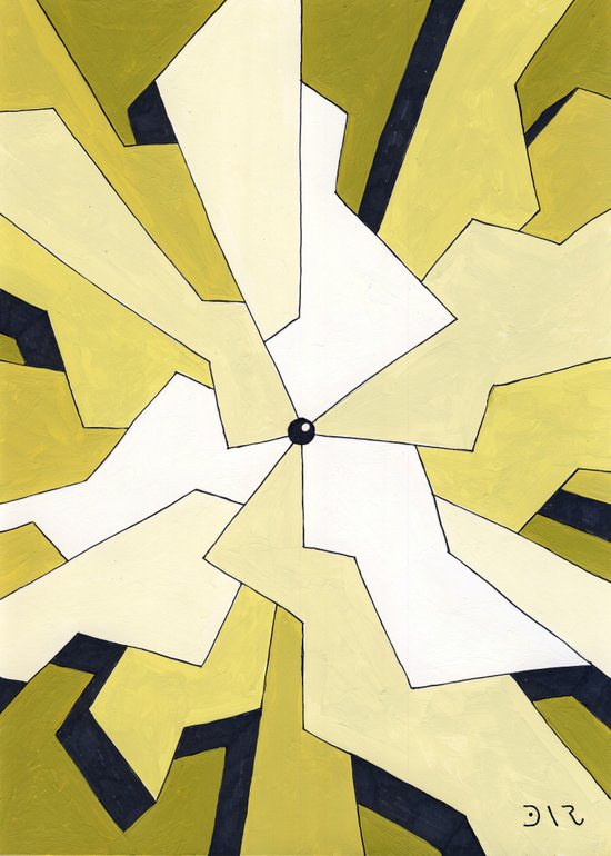 Mono Pattern   The Fragments Art Print