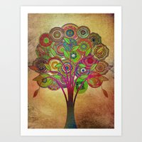 Tree of Life 2 Art Print