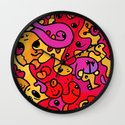 Creatures and Things Wall Clock