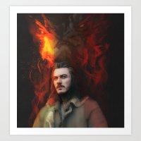 Bard the Dragon Slayer Art Print