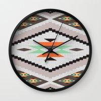Navajo Wall Clock