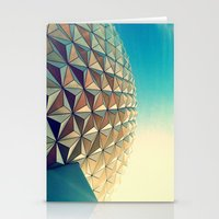 Epcot Stationery Cards