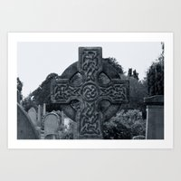 'CELTIC CROSS' Art Print