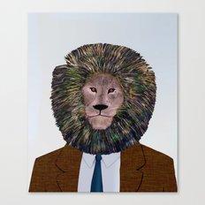 Uncle Leo's Portrait Canvas Print