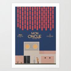 Mon Oncle - Jacques Tati Movie Poster Art Print