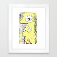 Inspiration and Dreams Framed Art Print