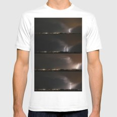 Stormed Mens Fitted Tee SMALL White