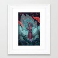 The Reach. Framed Art Print