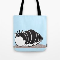 Kittypillar Tote Bag