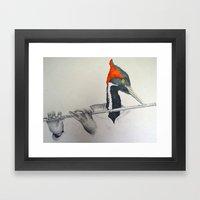 fluter Framed Art Print