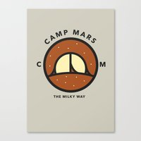 Camp Mars Canvas Print