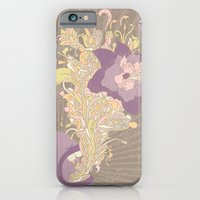 iPhone & iPod Case featuring everything's coming out roses by wanton doodle
