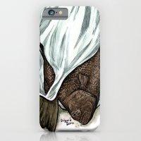 Flatfish And Mushrooms. iPhone 6 Slim Case