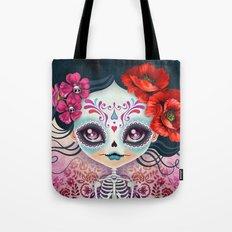 Amelia Calavera - Sugar Skull Tote Bag
