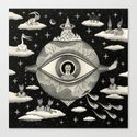 Some Sort of Mystical Explanation Canvas Print