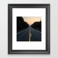 Journey Home Framed Art Print