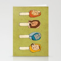 Some Girls Living In A Nailpolish Stationery Cards