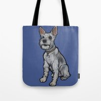 Lexi The Schnauzer Tote Bag