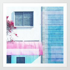 Sunny Canopy Art Print