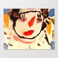 Carly Canvas Print