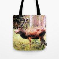 Mighty Deer Tote Bag