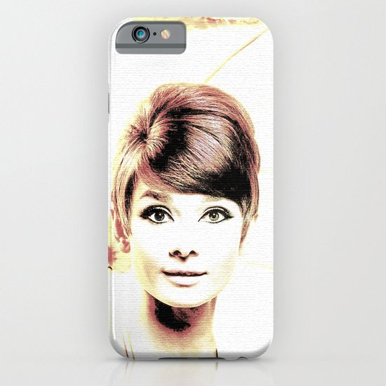 LOVELY AUDREY iPhone & iPod Case