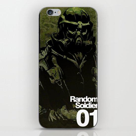 Random Solider 01 iPhone & iPod Skin