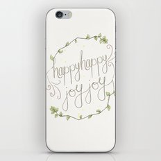happy happy joy joy iPhone & iPod Skin