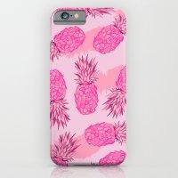 Pink Pineapples iPhone 6 Slim Case