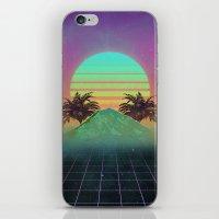 80s love iPhone & iPod Skin