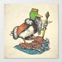 Duck Dynasty Canvas Print