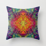 Solar Deity Throw Pillow
