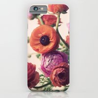 iPhone & iPod Case featuring Ranunculus by elle moss