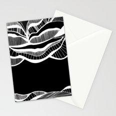 Positive negativism Stationery Cards
