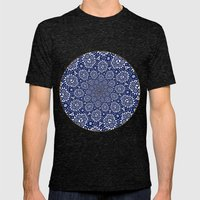 Bleu Gyre Royale Mens Fitted Tee Tri-Black SMALL